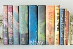 Lot of 12 (#1-7 plus) HARRY POTTER Complete Series Set HARDCOVER Books withCursed