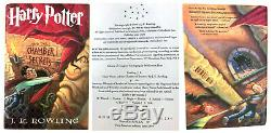 Lot of 7 Harry Potter Books Complete Hardcover Book Set All First US Editions +