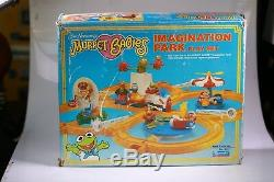 Muppet Babies Imagination Park Playset Complete New, In Box