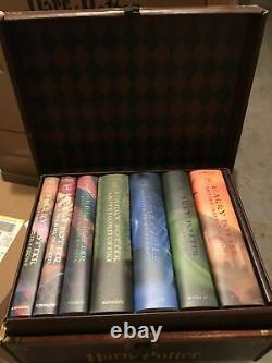 NEW 7 Harry Potter HARDCOVER Books Complete Series Collection Box Set Lot