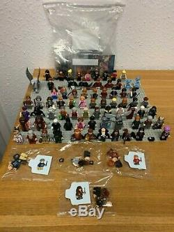 NEW COMPLETE HARRY POTTER WIZARDING WORLD minifigure collection 100 figures RARE