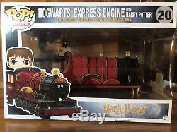 NEW Funko Pop Rides! Harry Potter Hogwarts Express Train Complete 3pc Set (RARE)