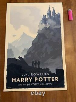 OLLY MOSS LIMITED EDITION HARRY POTTER PRINTS Complete Collection of 7