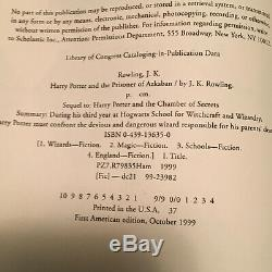 Original Harry Potter Complete Set -7 First Editions- 7 FIRST PRINTS