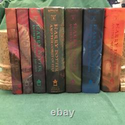 Original Harry Potter Complete Set -7 First Editions/ All FIRST PRINTS