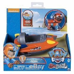 Paw Patrol SEA PATROL COMPLETE SET of 6 Rubble Skye Chase Rocky Marshall Zuma