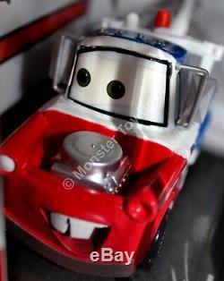 Pixar Cars Artist Series Foose Lightning McQueen Fillmore Mater Complete Set