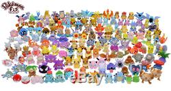 Pokemon Center Original Pokémon Fit Plush Dolls Vol. 1&2 Complete 151pcs Set EMS