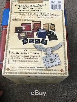 RARE HARRY POTTER LIMITED EDITION Box Set Yrs 1 -5 BLU Ray Box Complete