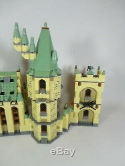 RARE Lego Harry Potter Set 4842 Hogwarts Castle 4th Edition COMPLETE Minifigures