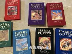 RARE harry potter complete 7 book set Limited Edition