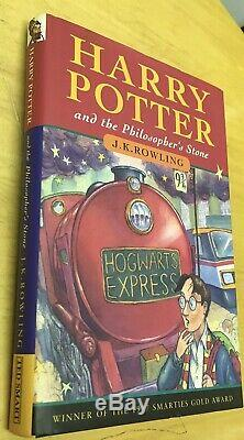 Rare Harry Potter Complete 1-8 Books First Editions 1st Print Very Good Conditio