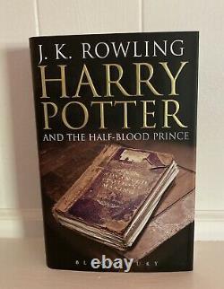 Rare Harry Potter Complete Set Adult UK Edition Bloomsbury Hardcover MINT