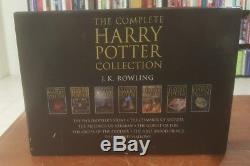 Rare UK The Complete British Harry Potter Collection Hardcover Vol 1-7 Box Set