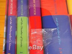 SEALED Harry Potter Complete UK Bloomsbury Original Hardback Book Box Set