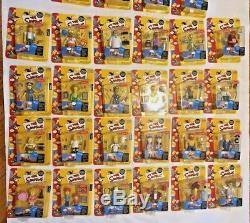Simpsons Action Figure Sets All Complete Except Series 4, 5 & 12 MIB See Bonus