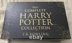 The Complete Harry Potter Collection Boxed Set UK Adult Edition (Paperback)