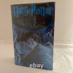The Complete Set (7 Books) First Edition Harry Potter Series Mint Condition