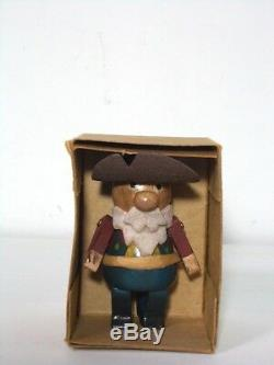 Toy Story Wooden Doll Woody/Jessie/Prospector/Bullseye Complete Set Young Epoch