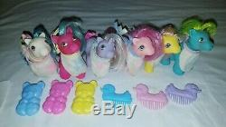 Vintage G1 PEEK A BOO BABY COMPLETE LOT Brother Whirly Twirly My Little Pony