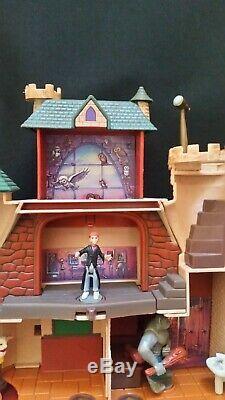 Vintage Polly Pocket Disney Harry Potter Hogwarts Electronic Castle100% Complete
