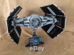 10175 Lego Complet Star Wars Cravate Vader Combattant Avancé Ucs, Navire Ultime