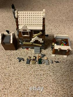2004 Lego Harry Potter Shrieking Shack #4756 Complet Avec Minifigs
