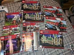 2010 Lego Harry Potter Lot De Produits En Vrac 99% Complété Par Minifigurines