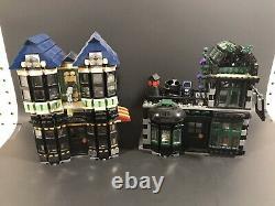 2011 Lego Harry Potter 10217 Diagon Alley Set 100% Complet Avec Boîte Rare