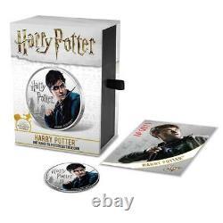 2020 Fiji Harry Potter Ensemble Complet De Huit Pièces D'épreuve D'argent De 1 Oz Vendu