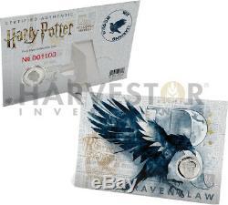 2020 Harry Potter Complete 5 Crests Collection De Pièces Ngc Pf70 Premières Sorties
