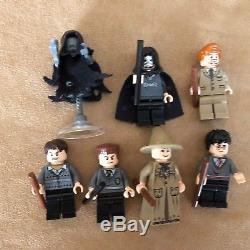 4867 Lego Complete Harry Potter, Figurines De L'école De Châteaux De Poudlard, Prof Lupin
