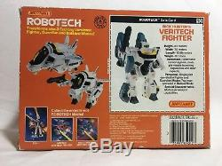 Bandai Macross Vf-1s Hikaru Super Valkyrie Salut-compact Robotech Complet Us Ver