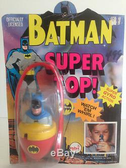 Batman Super Top DC Comics Ahi Toys Complète Batmania Vintage Rare Vintage Des Années 60