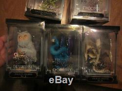 Bêtes Fantastiques Créatures Magiques Ensemble Presque Complète Occamy Bowtruckle Fwooper