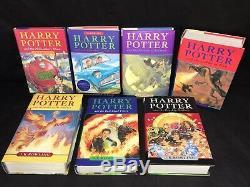 Bloomsbury Raincoast Books Harry Potter Complete Set 1-7 Hc Withdj J. K. Rowling