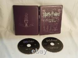 Blu-ray Harry Potter Complete 8 Film Collection Coffret Steelbook Tous Les 16 Disques