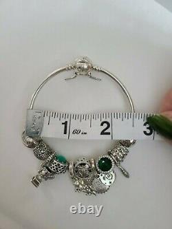 Bracelet Pandora Charm Bracelet À Lytherin Bracelet À Le Titre Complet Avec Charms