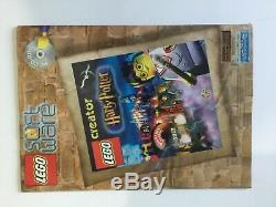 Castle Lego Harry Potter Poudlard 4709 100% Complet Avec Manuel (2001)