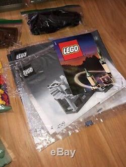 Castle Lego Harry Potter Poudlard (4709) 100% Complet Avec Nouveau Fiche Autocollant