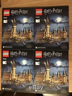 Castle Lego Harry Potter Poudlard 71043 100% Complete La Plupart Du Temps Sealed