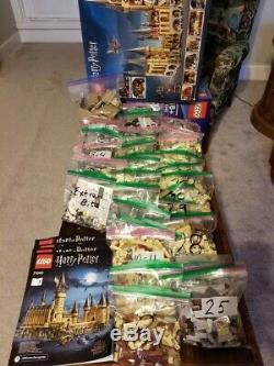 Castle Lego Harry Potter Poudlard Set (71043) Adulte 100% Appartient Complet