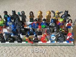 Collection Complète Complète De 210 Figurines Lego DC Comics Et De 3 Grandes Figues