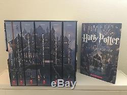 Collection Complète De Livres Harry Potter, Coffret, Autographiée Par Michael Gambon