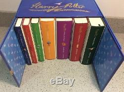 Collection Complète Harry Potter 1-7 Livres Cartonnés Coffret Edition Signature