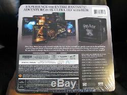 Collection De Coffrets Complets Hd Blu-ray 4k Uhd De Harry Potter, Nouvelle Collection Scellée