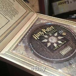 Collection Harry Potter Wizard Boîte De Coffre DVD De Luxe Blu Ray Complète
