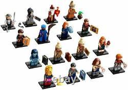 Collection Lego Harry Potter Série 2 71028 Ensemble Complet De 16 (en Main)