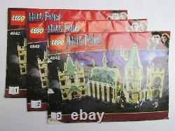 Complet 4842 Lego Harry Potter Hogwarts Castle Modèle Set Figurines 0918