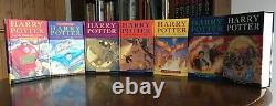 Complet Harry Potter Box Set, Bloomsbury Hardback First Editions, Fine